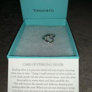 Elsa Peretti open heart sterling silver ring.